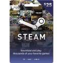 Steam Wallet 25 USD (Código)