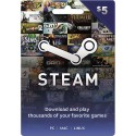 Steam Wallet 5 USD (Código)